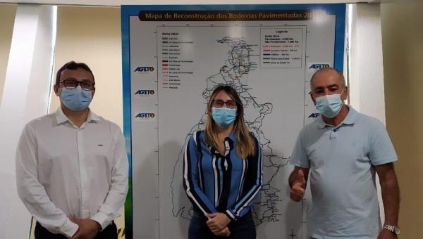 Em Palmas, prefeito José Salomão realiza visita à Ageto a fim de firmar parcerias
